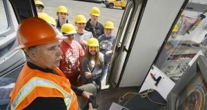 Učenici na gradilištu