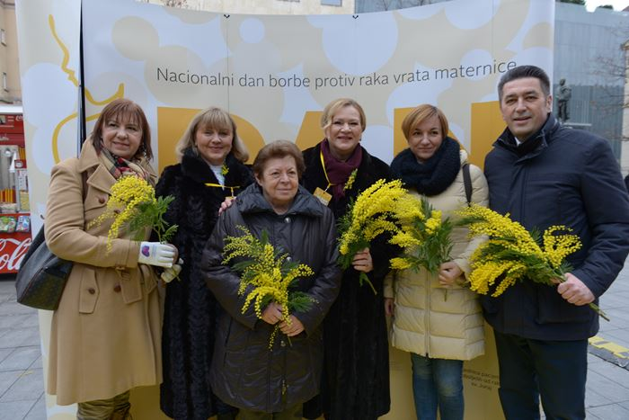 Obilježen Dan mimoza i Nacionalni dan borbe protiv raka maternice